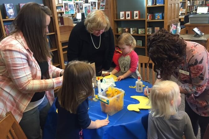 Literacy Playgroup at Library