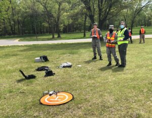 Youth from AVCAP train to operate search and rescue drones